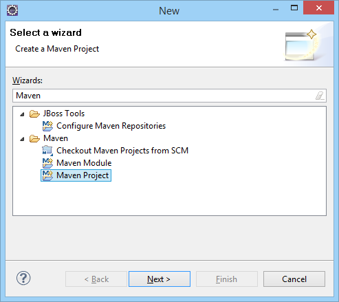 Apache Maven Create Project Start