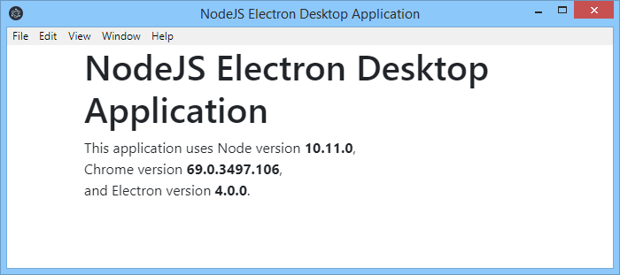 Electron JS – Best Of Hello World