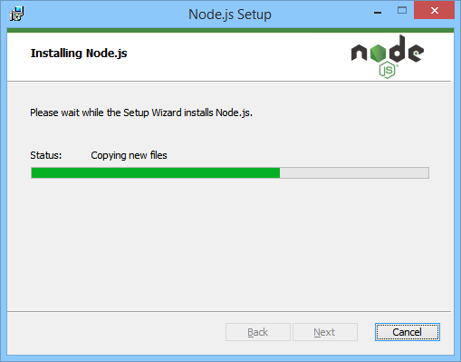 NodeJS Installing