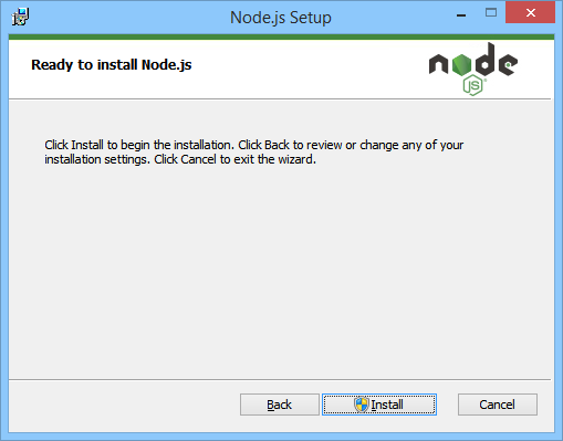 NodeJS Ready To Install