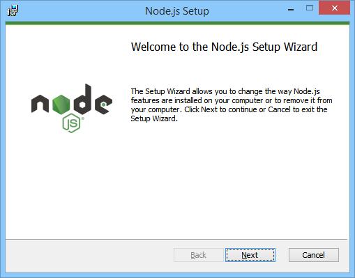NodeJS Setup Start